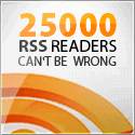 25000 RSS readers