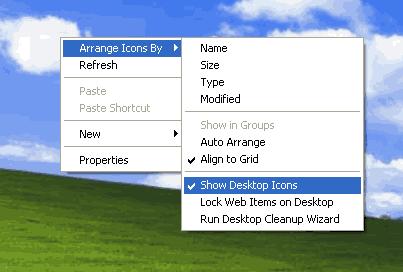 Arrange-Icons