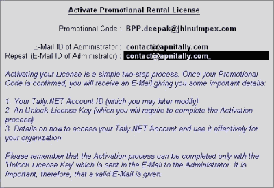 tally. erp 9 serial number and activation key free download