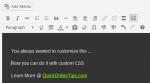 add editor styles
