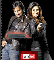 Saif and Kareena Promote Airtel TV