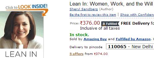 amazon india sale