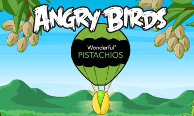 angry birds golden pistachio game