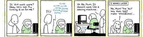 anykey comic strip