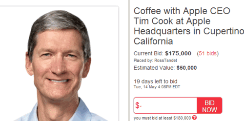 Coffee with Apple CEO