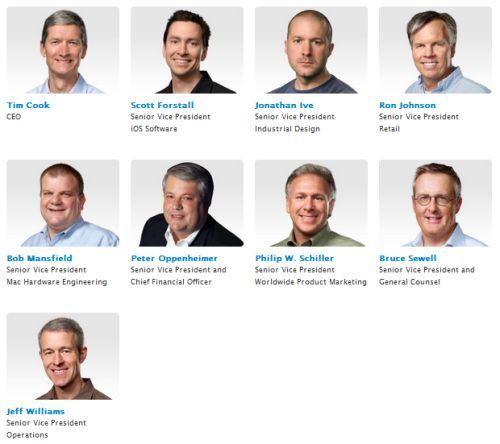 New Apple CEO