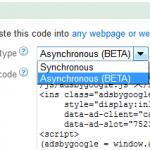 asynchronous adsense code