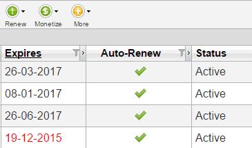 autorenew domains
