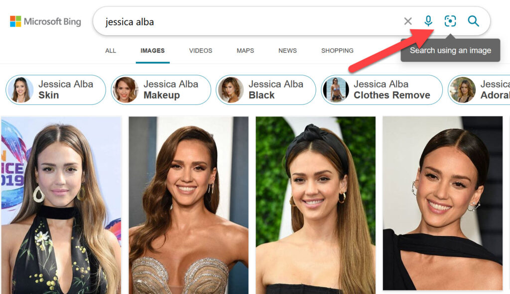 bing search by image