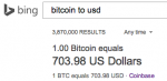 bitcoin exchange rate