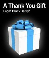 blackberry apps gift