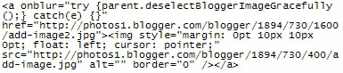 blogger code