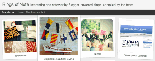 best blogger blogs