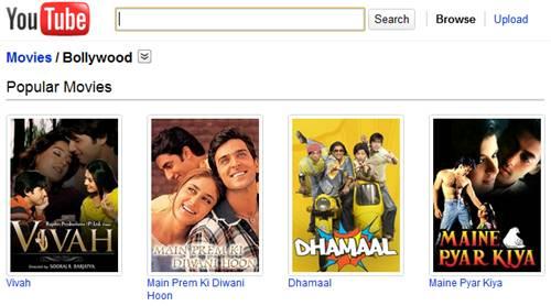 bollywood-hindi-movies on Youtube