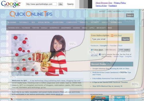 Google Browser tool