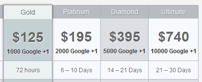 buy google plus one