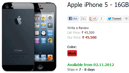 iphone 5 value buy apple iphone 5 on airtel india for rs 45500 coming 11059