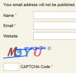 comments captcha