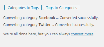 converted tags
