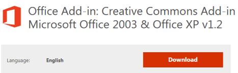 creative commons  in office