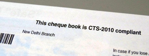 cts-2010 cheque book