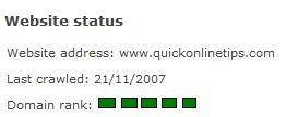 Domain Rank