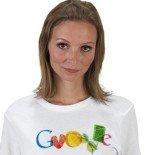 google doodle tshirt girl