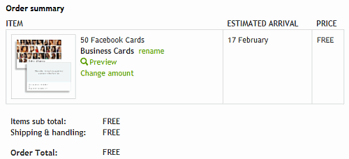 Free Facebook Cards