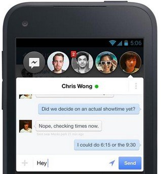 Download Facebook Home App: Let Facebook Takeover Your Phone