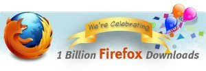 firefox billion downloads