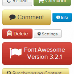 font awesome