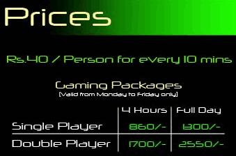 gaming charges