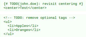 good coding practices