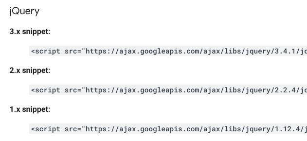 google CDN
