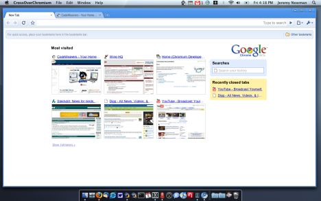 Download Google Chrome for Mac OS X Computers