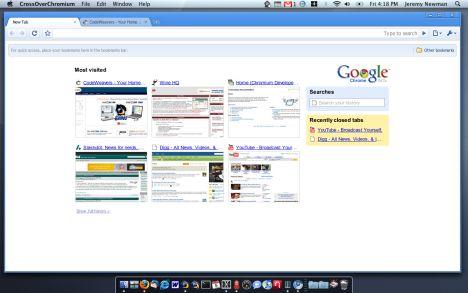 google chrome mac screenshot