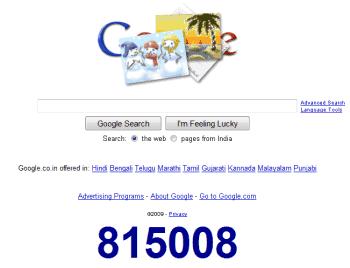 Google counter