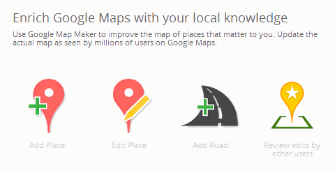google mapping contest