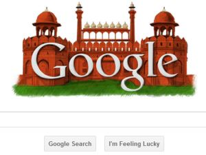 google redfort independence day logo