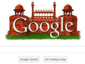 google redfort independence day logo