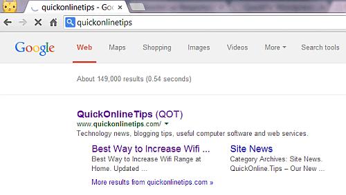 New Google Search Box