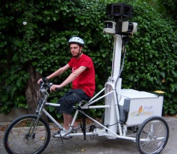 google street view tricycle