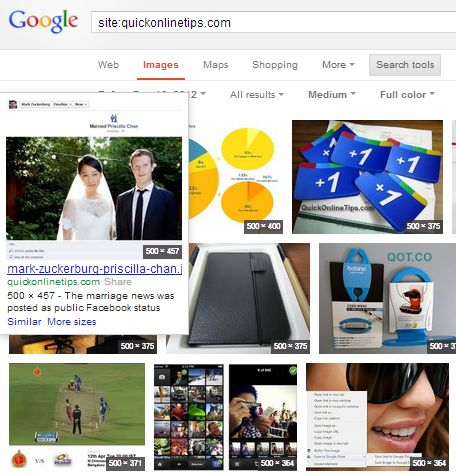 google images site search
