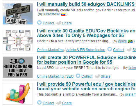 gov edu backlinks