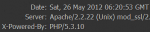 hide php version
