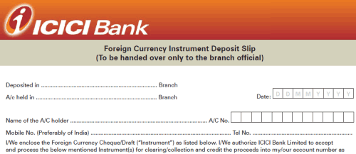 How to Deposit US Dollar Cheque in Indian Bank Accounts