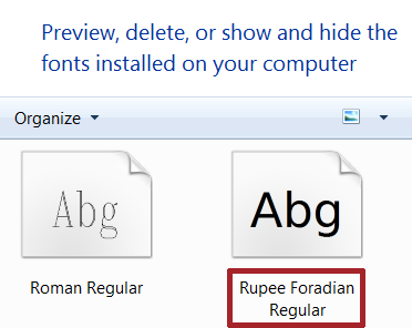 Indian Rupee Font Symbol: Download Free for Word