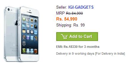 iphone 5 india
