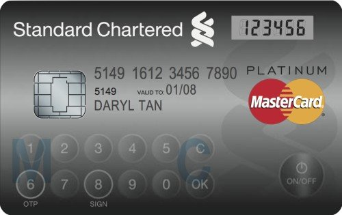 new mastercard with keypad