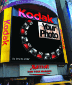 kodak times square display